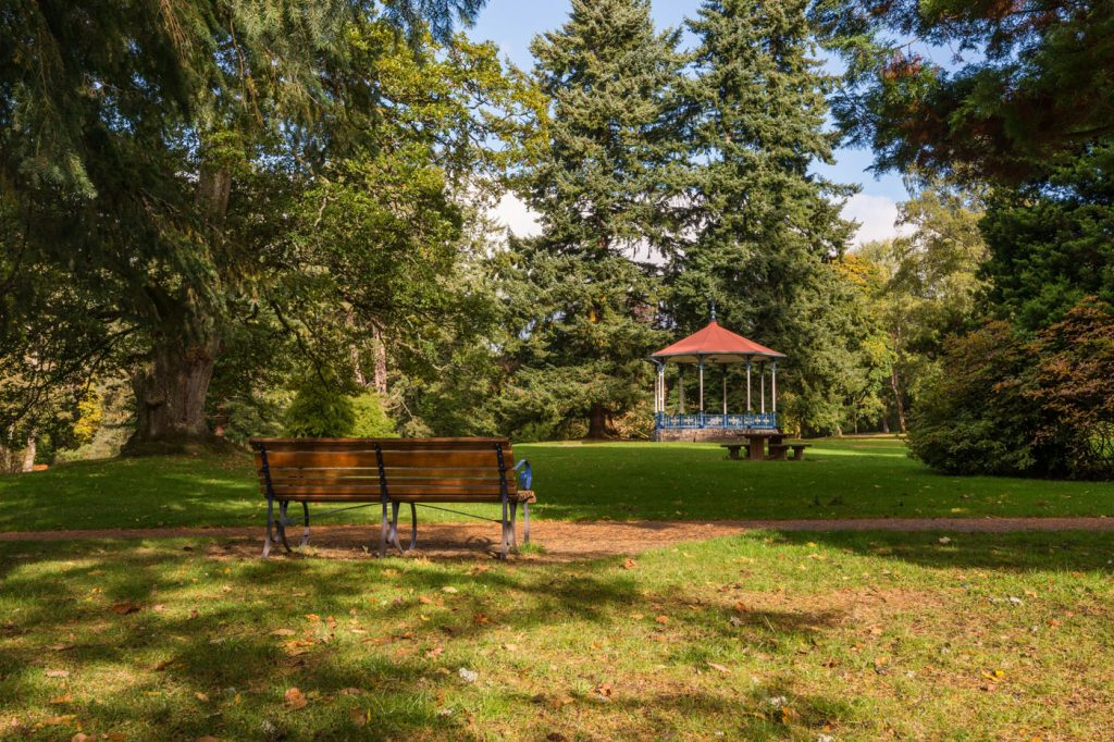 MacRosty Park Bandstand, Crieff