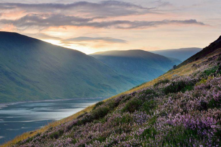 Loch Turret Sunset, Crieff