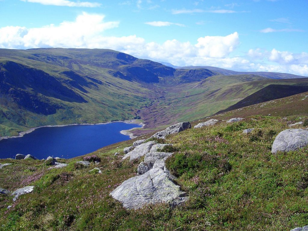 Loch Turret from above